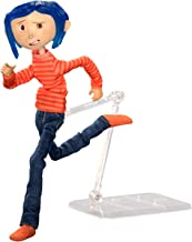NECA - Coraline – Articulated Figure – Coraline in Striped Shirt and Jeans