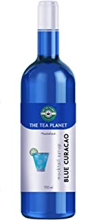 The Tea Planet - Blue Curacao Syrup to Coffee, Tea, and Specialty Cocktails, Non - GMO, Gluten-Free, Vegan (700 ml )