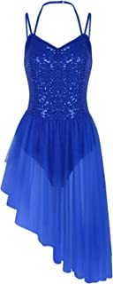 blue dance costume