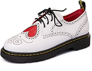 Nine Seven Women's Leather RoundToe Oxford Flats