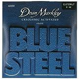 Dean Markley 2554 Jeu de cordes pour guitare électrique Bluesteel CL 09-11-16-26-36-46