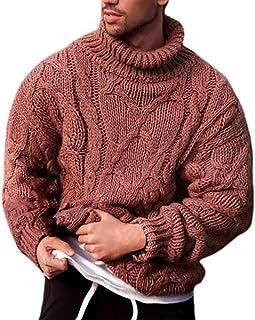 Messieurs Crew Pull Tricot gilet Tricot Pull Sweatshirt Chaud Tricot Hiver