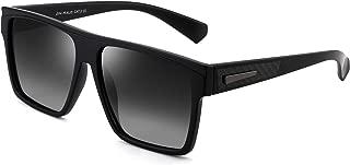 Retro Polarizadas Gafas de Sol Hombre Mujer Plano Top Cuadradas Conducir Anteojos