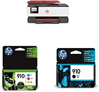 $253 » HP OfficeJet Pro 8035 All-in-One Wireless Printer - Coral (4KJ65A) with Ink Cartridges - 4 Colors