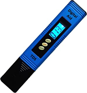 TDS - Best Water Quality Test Meter. Large Backlit LCD Screen. Professional TDS and Temperature Meter at an Economy Price. on this Accurate and Reliable Water Test Meter.