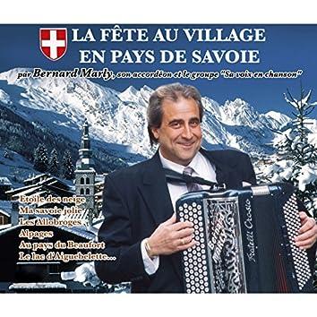 La fête au village en pays de Savoie