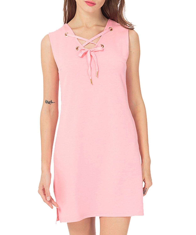 [美しいです]  女性 ワンピース 半袖 セクシー ラウンドネット 欧米風 花柄 プリント ショットスカート 夏 コード 無地 ポケット