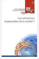Les entreprises responsables de la société ? (04) Broché