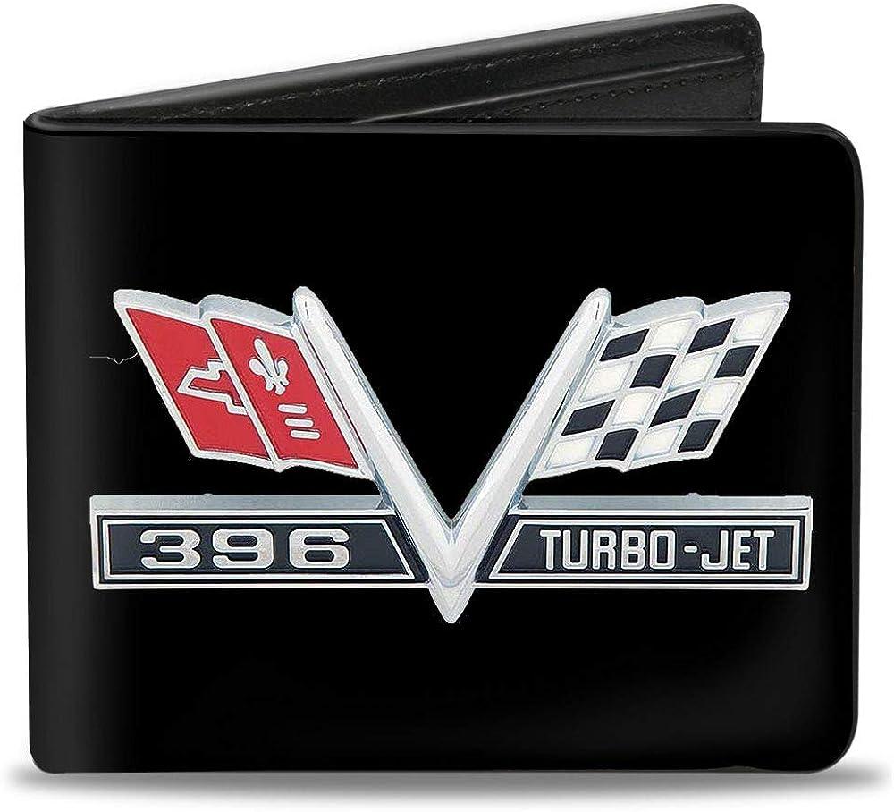 Buckle-Down Men's Standard Bifold Wallet Impala 4.0