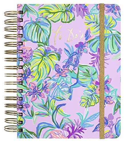 Lilly Pulitzer To Do Planner Mermaid In The Shade One Size