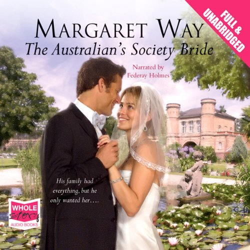 The Australian's Society Bride audiobook cover art