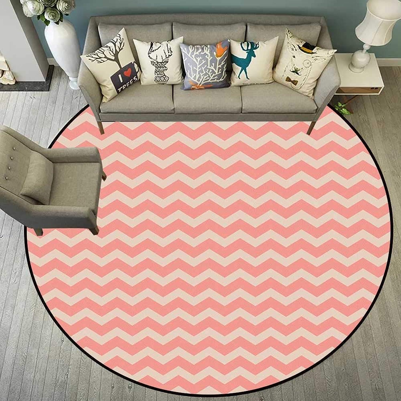 Circularity Floor mat for Office Round Indoor Floor mat Entrance Circle Floor mat for Office Chair Wood Floor Circle Floor mat Office Round mat for Living Room Pattern 5'10  Diameter