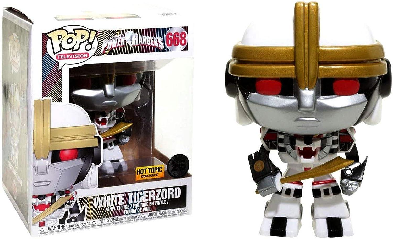 Funko POP  Power Rangers Whiter Tigerzord Exclusive