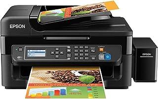 Impressora Multifuncional 4 Em1 Colorida Wireless + Fax Bivolt, Epson L575 Ecotank, Preto