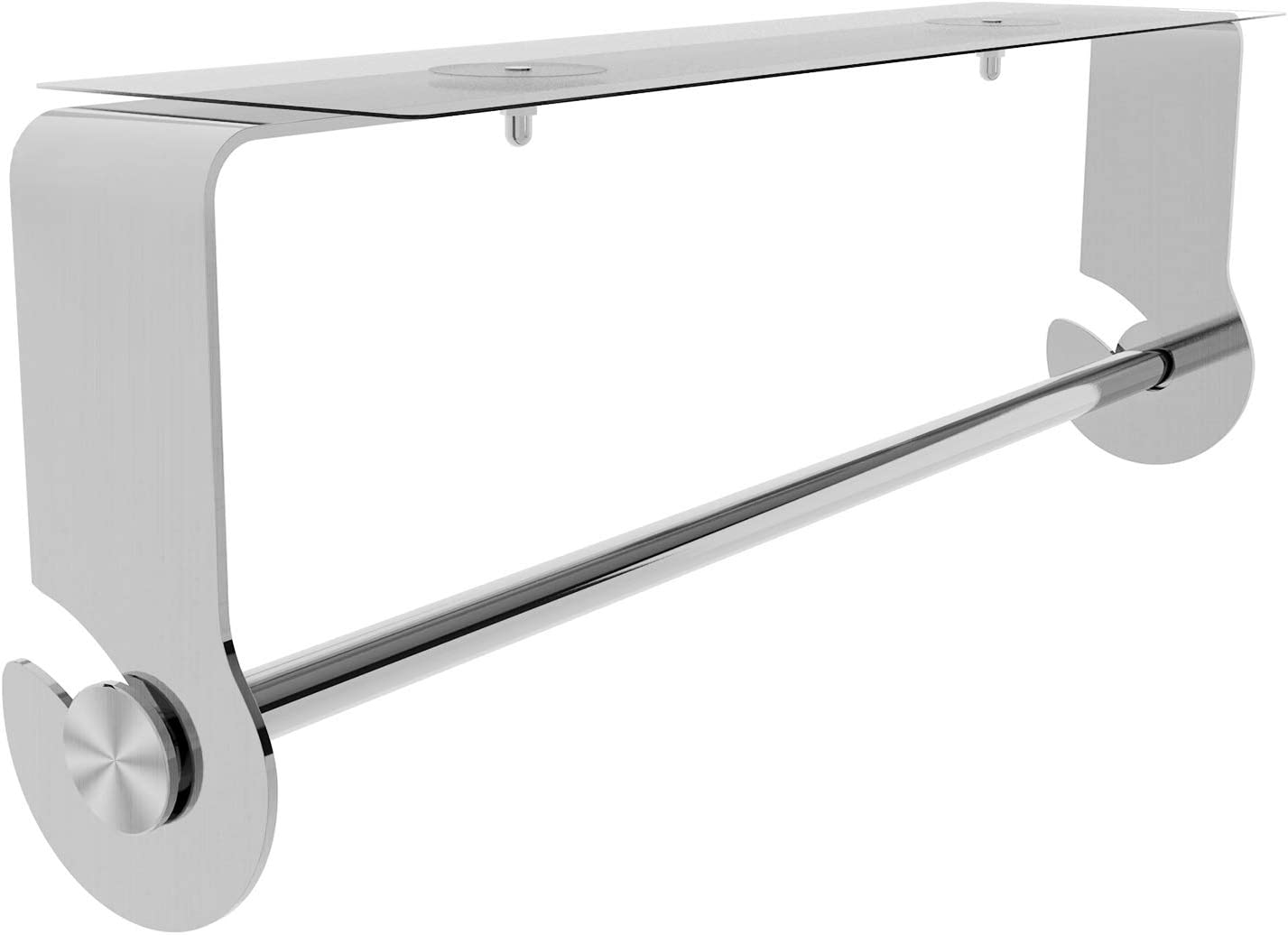 SMARTAKE Paper Towel Holder San Diego Mall with Wall Under Adhesive Mo Popular brand Cabinet
