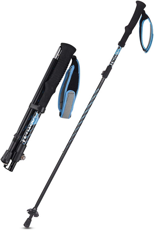 Folding Walking Trekking Max 90% OFF Lightwei Durable Import Poles,Aopwsrlyi