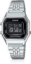 Relógio Feminino Digital Casio Vintage LA680WA-1BDF - Prata