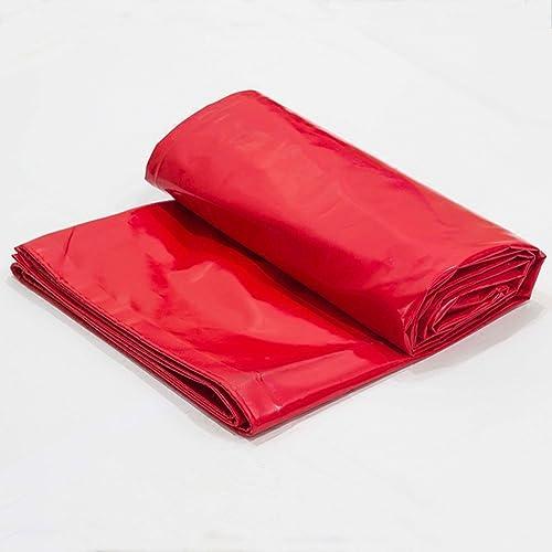 Waterproof Cloth Home Toile imperméable épaisse bache épaisse, Tapis de Camping en bache, Prougeection Solaire Anti-corrosif Anti-Corrosion, Rouge (Couleur   A, Taille   4x5M)