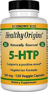 Healthy Origins 5-HTP Natural Multi Vitamins, 100 Mg, 120 Count