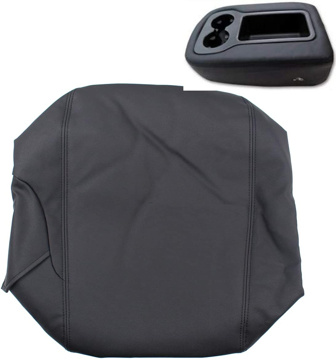 NewYall Dedication Black Center Console Only Leather Cover Special price Armrest