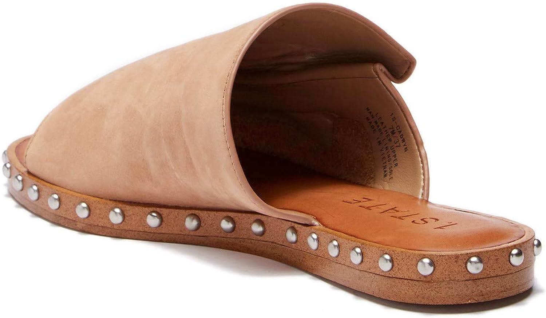 1.Statens kvinnor Cadwyn läder Open Toe Casual Casual Casual Slide Sandals  upp till 65% rabatt