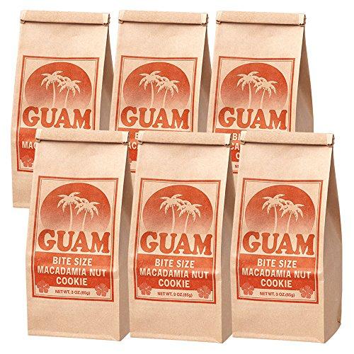 グアムお土産 | グアム マカデミアナッツクッキー 6袋セット