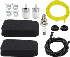 Allong 150BT 502844401 Air Filter +Primer Bulb +Grommet +Fuel Filter Line for Husqvarna 350BT 350BF 560BFS 560BTS Red Max EBZ5100 EBZ5100Q EBZ8000 EBZ8000R Backpack Blower Tune-Up kit