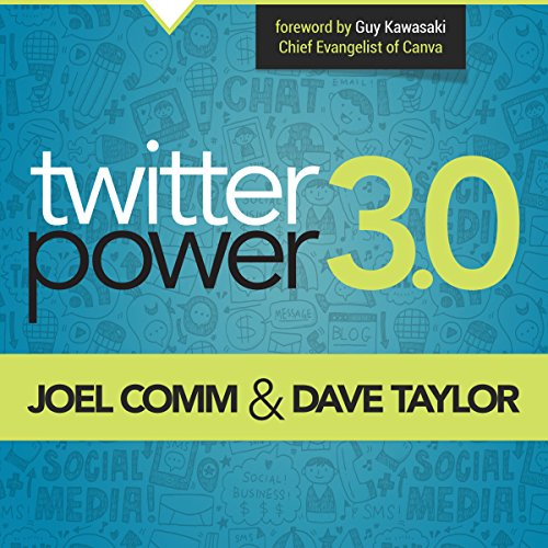 Twitter Power 3.0 audiobook cover art