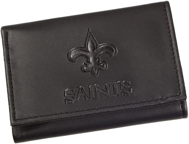 Team Sports America NFL Tri-Fold Wallet Black
