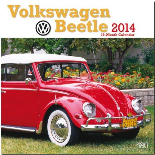 Volkswagen Beetle 2014 - VW Käfer: Original BrownTrout-Kalender [Mehrsprachig] [Kalender]