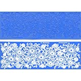 Summer Breeze Silicone Lace Mat by Crystal Candy