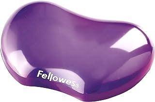 Fellowes Crystals Gel Flex Wrist Rest - Purple