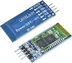 Aideepen 2PCS HC-06 RS232 Wireless Serial 4 Pin Bluetooth RF Transceiver Module Support Slave and Master Mode for Arduino