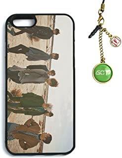 Fanstown Kpop GOT7 iPhone 6/6s case Flight Log: Arrival + Dust Plug Charm (D01)