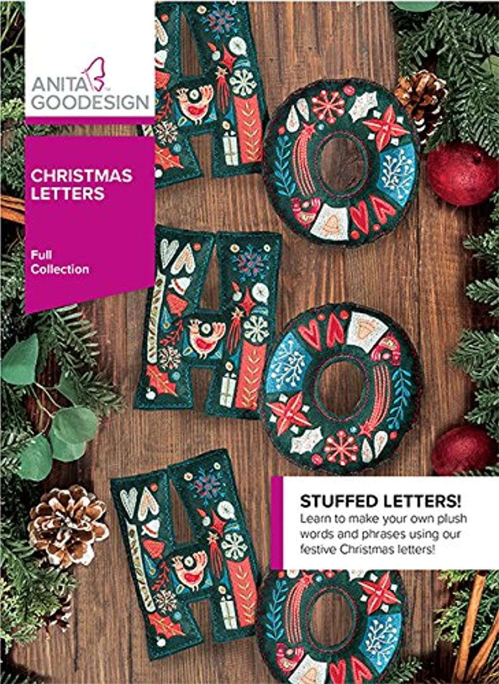 Anita Goodesign Embroidery Machine Designs CD Christmas Letters