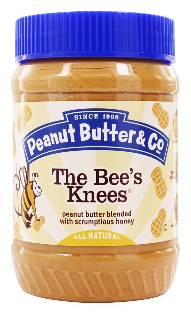 Peanut Butter Co The PButter Knees Genuine unisex Bees 6x16OZ