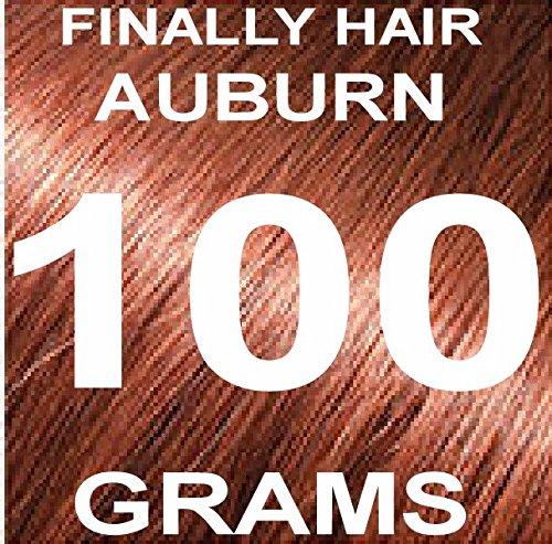 Finally Hair Building Fiber Refill 100 Grams Auburn Hair Loss Concealer by Finally Hair (Auburn)