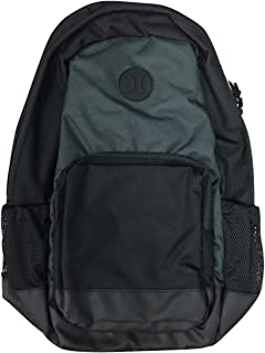 Hurley Men's Renegade Color Blocked Backpack, Black/Grey, One Size