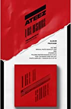 ATEEZ Treasure EP.2 Zero To One 2nd Mini Album CD+Poster+Photo Booklet+3Photocards+12Post Calendar Cards+Sticker+Gift(Extra 10 Photocards+Pocket Mirror)