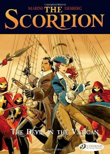 Scorpion, The Vol.2: The Devil in the Vatican (Scorpion (Cinebook)) by Stephen Desberg (2009-05-07)