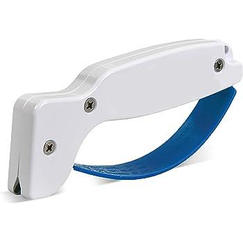 AccuSharp 001C Knife & Tool Sharpener, Sharpening Knives, Cleavers, Axes, Machetes, Serrated Blades, Double Edge Cutting Blade Sharpener