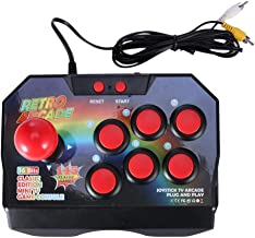 SODIAL Retro Arcade Game Joystick Game Controller Av Plug Gamepad Console with 145 Games for Tv Classic Edition Mini Tv Game Console