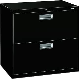 HON Brigade 2-Drawer Filing Cabinet - 600 Series Lateral Metal File Cabinet, 30