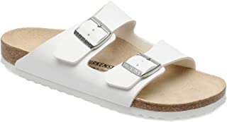 Birkenstock Unisex Arizona, White Sandals