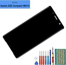 New Replacement LCD Screen Compatible with Sony Xperia XZ2 Compact H8324 H8314 LCD Touch Screen Display Assembly with Tools