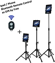 Ipad Tripod Mount Floor Stand, Vstyle Height Adjustable 20 to 60 Inch Tablet Tripod Stand..