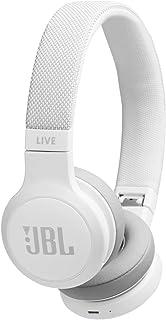 JBL Audífonos On Ear Live 400BT Bluetooth, Blanco, Unico