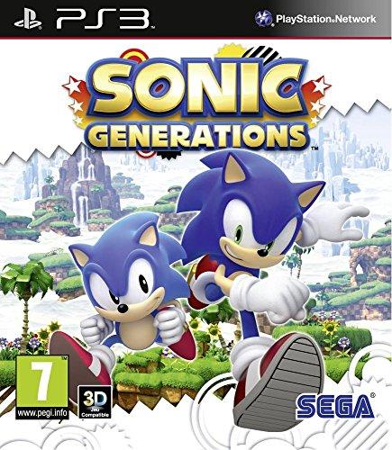 SEGA Sonic Generations [PS3] (PS3, Action)