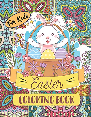 Easter Coloring Book for kids: A Fun Kid Workbook Game for Learning, Easter Activity for Kids, Includes Mazes, Word Search, Sudoku, Drawing, Picture Puzzles, Coloring, and Doodling