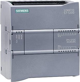 Siemens st70-1200 - Cpu 1212 contactos dc/dc/dc e/s 8 ed 24v corriente continua 6sd